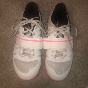 Rebook lifting shoes size 5 womens